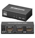 AVS 44-2 HDMI+ Splitter 1in/2out, 3D