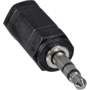 InLine® Audio Adapter, 2,5mm Klinke Buchse an 3,5mm Stecker, Stereo